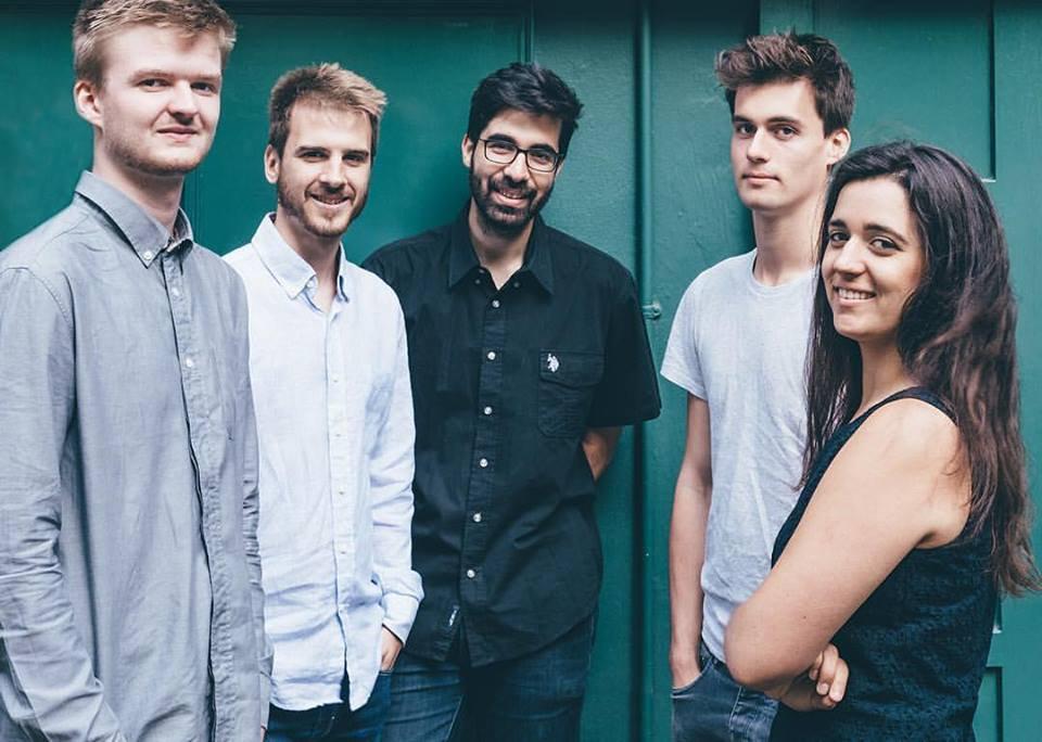 London based Afro-Brazilian quintet, Caravela.