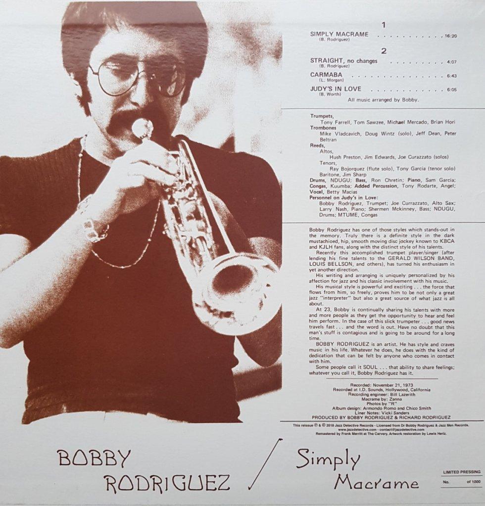 MANYSHADESOFMUSIC - Bobby Rodriguez